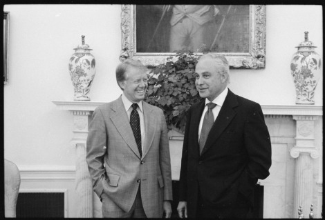 Ambassador Robert Strauss with President Jimmy Carter.