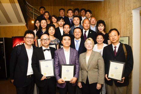 MAP and Chinese Business Delegation